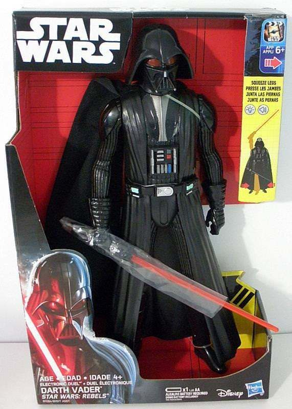 Star Wars Rebels Electronic Duel Darth Vader Action Figure- New In Box #DisneyHasbro