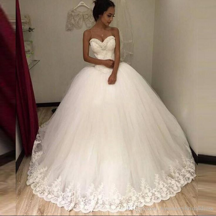 Ball Gowns 2016 Wedding Dress Sweetheart Bling Bling Shinny Bridal Dresses Lace Appliques Tull Tutu Wedding Dress Z0911 Wedding Dress For Plus Size Ballgown Wedding Dresses From Rosemarybridaldress, $126.64| Dhgate.Com