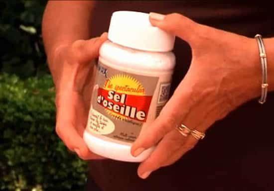 utilisation du sel d'oseille