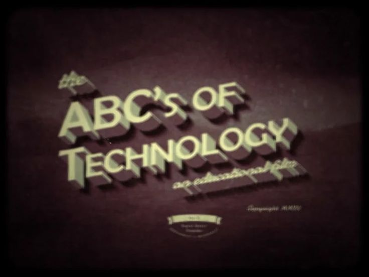 The ABCs of Technology on Vimeo