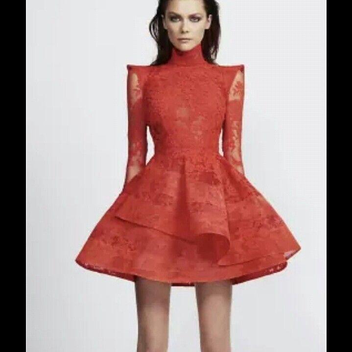 Red mini dress at www.ganacheboutique.com.au