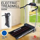 500W Portable Folding Electric Motorized Treadmill  Running Gym Fitness Machine