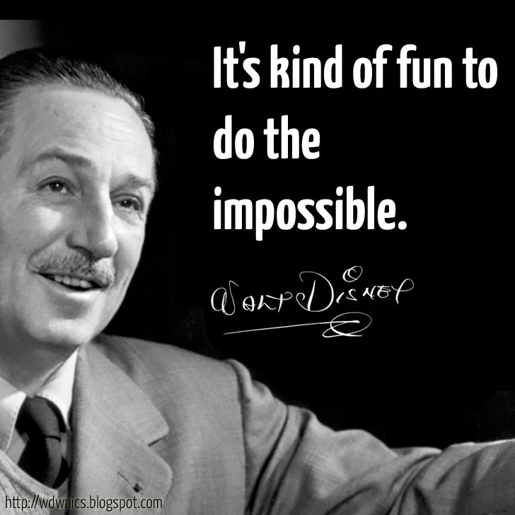 Walt Disney Quote Simple 10 Best Walt Disney Quotes Images On Pinterest  Inspiration Quotes