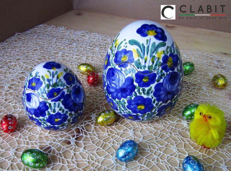 #Easter #Abruzzo #Pasqua #fioraccio #flowers #ceramic #handmade #fiori #flowers #blu
