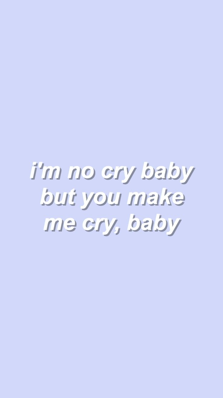 cry baby // demi lovato