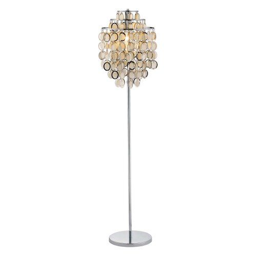 Adesso 3637-22 Shimmy Chrome Floor Touch Lamp - Floor Lamps at Hayneedle