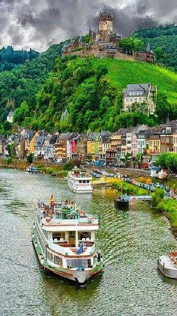 ☆ Crucero por el Río Rin, Alemania.