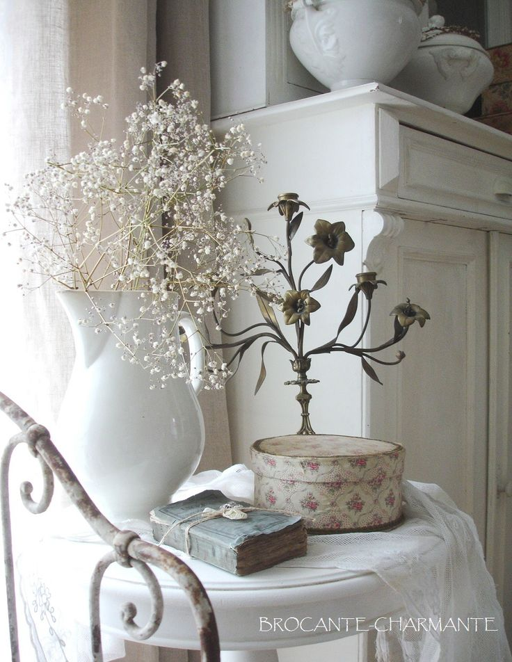 1903 best french shabby chic vintage and country style images on pinterest country style - French shabby chic ...