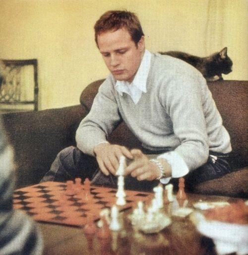 #chess Marlon Brando