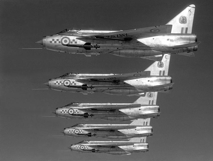 Lightning F2a 19sqn Royal Air Force