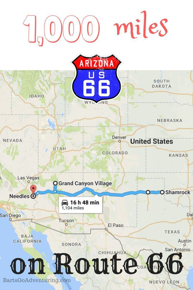 our texas to california road trip including 1000 miles on route 66