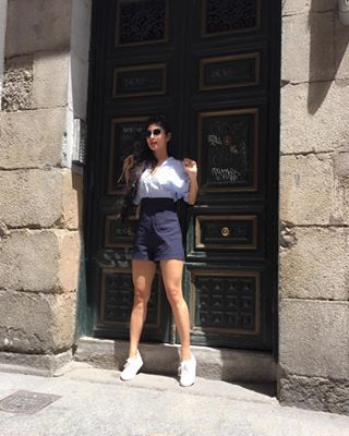 At other times, she�s busy bringing her fashion A-game to every exotic place she travels to. | 16 Outfits That'll Make You Want To Follow Mouni Roy On Instagram