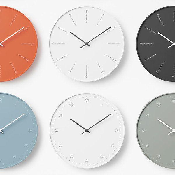 【ELLE】nendoが手がけるユニークな壁掛け時計、レムノスから発売|エル・オンライン
