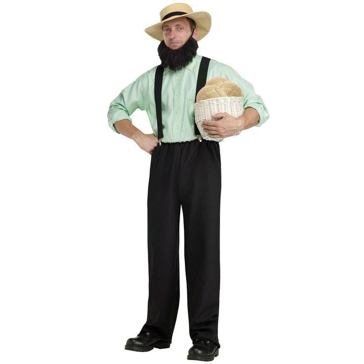 Costume and Party SuperCenter Adult Amish Mafia Costume (128848)