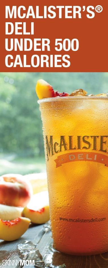 Get your next low cal meal at McAlister's!