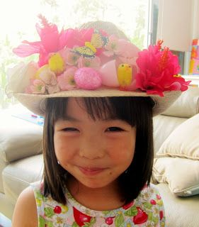 Heather Designs: DIY Easter crafts 2 - How to make an Easter Bonnet !