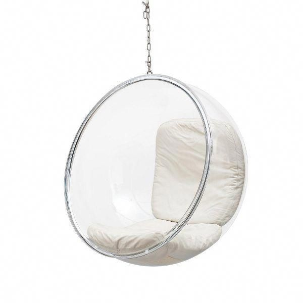 1960s Hanging Plastic Bubble Chair Keeps You Cosy And Isolated Ippinka