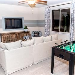 A loft for the kids to have their own game and entertainment space! Learn more about the new homes at Meadowood by Benchmark Communities in Fresno, CA.