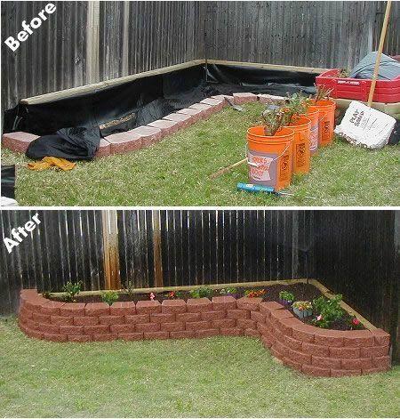 ... raised flower bed more privacy fence raised flowerbed corner flower