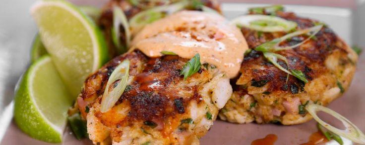 Baltimore Grilled Crab Cakes Recipe | The Chew - ABC.com