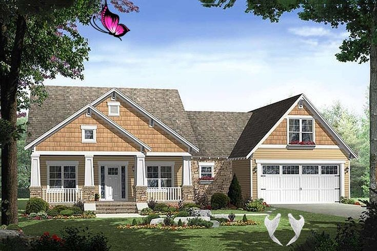 Pin On Craftsman House Plans