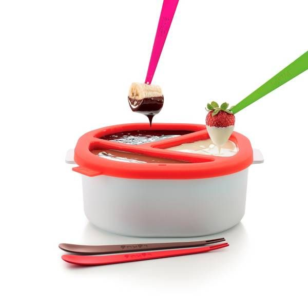 Product Image for Lékué Microwave Chocolate Fondue Set 3 out of 5