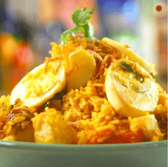 Brown Rice Egg #BiryaniRecipe - Learn how to make this tasty dish here