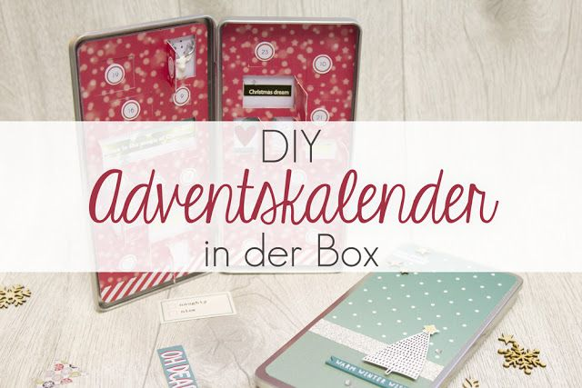 Kreativsüchtig: DIY Adventskalender in der Box