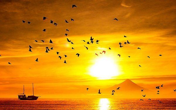 Sunrise in Puerto Varas, Chile