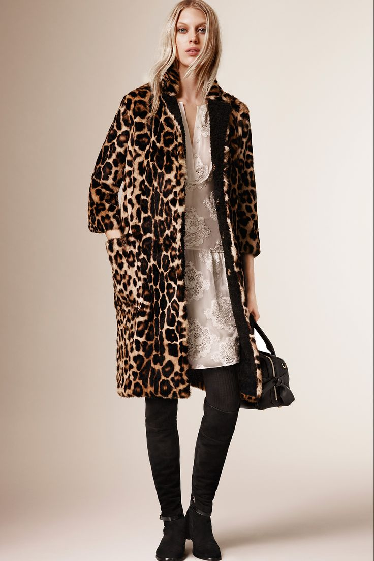 Take inspiration from the Burberry Prorsum PreFall 15 collections, consider leopard as a neutral and work it back with on trend lace. www.stylestaples.com.au