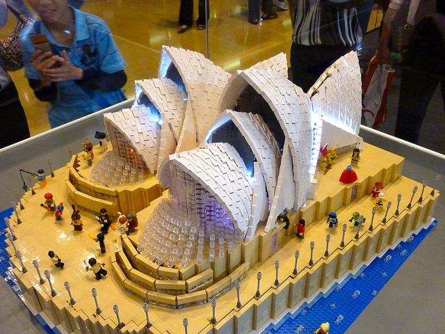 Sydney: A Lego exhibition in CityPlaza, Taikoo Shing, Hong Kong. by Flickr user MattFM