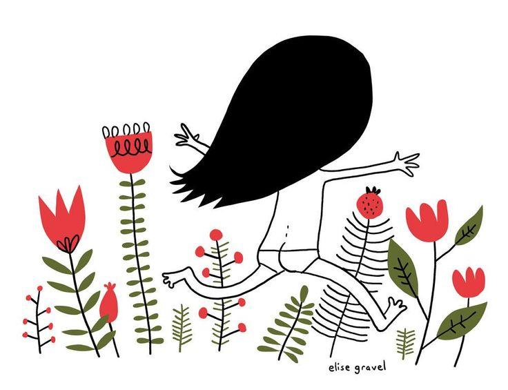Running free by Elise Gravel