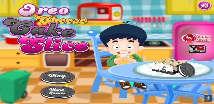 Przygotuj wraz z chłopczykiem pyszny sernik, który będzie zawierać najlepsze ciasteczka na świecie! Ty też lubisz Oreo? :) http://www.ubieranki.eu/gry/3855/sernik-oreo.html