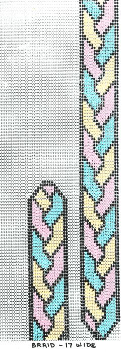 loom beadwork pattern braid... if i ever use my bead loom again
