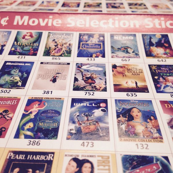 DIY Disney Picture Frame: using movie stickers from junk mail