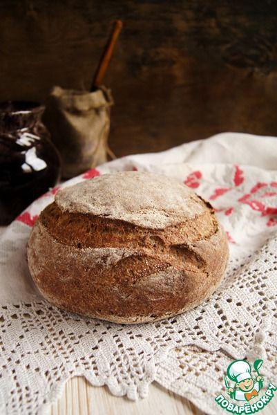 Хлеб с льняной мукой - кулинарный рецепт