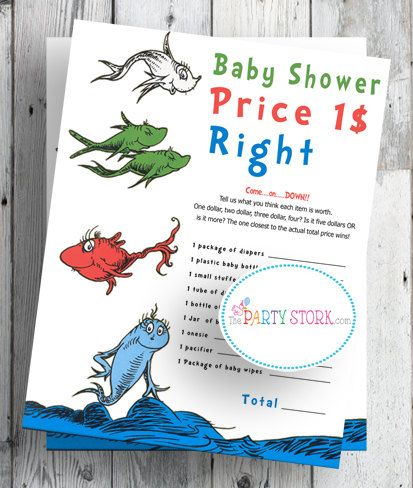 145 Best Dr Seuss Baby Shower Images On Pinterest Birthdays Boy