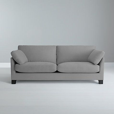 Buy John Lewis Ikon Grand Sofa, Henley French Grey From Our Sofas Range At  John Lewis. Free Delivery On Orders Over