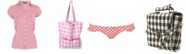BB Lancel : le nouveau sac Brigitte Bardot - Vichy rose chez top shop et dorothy perkins