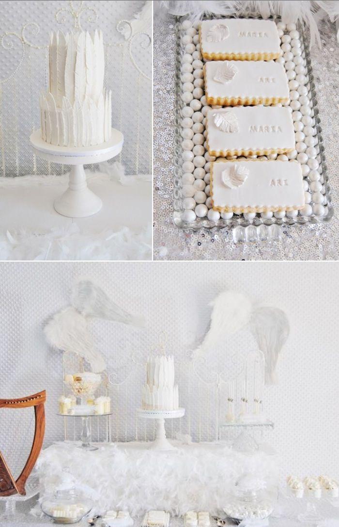 Tema - angel  O site é especializado em festas