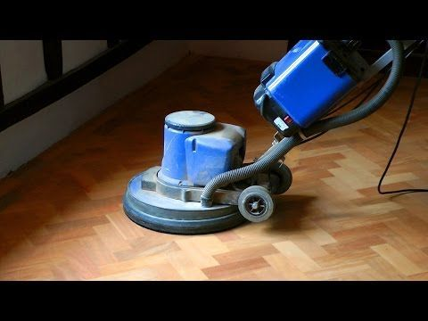 How to Refinish a Wooden Floor without Sanding | How To ...