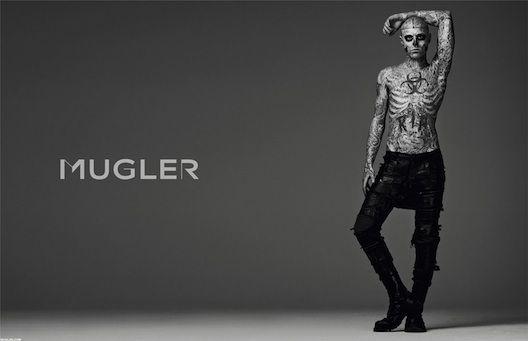 Mugler zombie boy