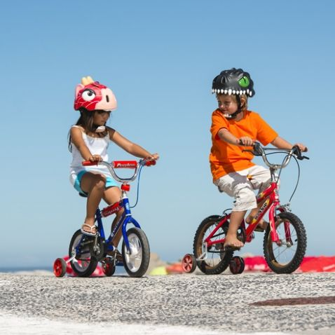 It has never been easier to get a child to wear a helmet!