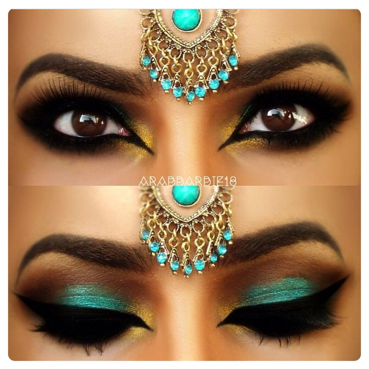 Bewitching Egyptian-inspired makeup