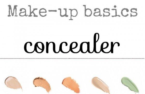simple thoughts make-up basics: concealer. Simpele tips en trucs om je concealer perfect aan te brengen!