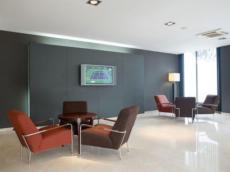 Sala de estar del Hotel Ciutat MArtorell http://hotel-martorell.com/es/hotel-martorell/servicios