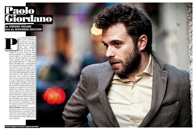 Paolo Giordano - Vogue.it