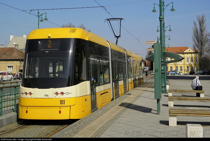 RailPictures.Net Photo: 101 Szeged Transport Limited (SzKT Kft.) PESA Swing at Szeged, Hungary by Máté Szilveszter