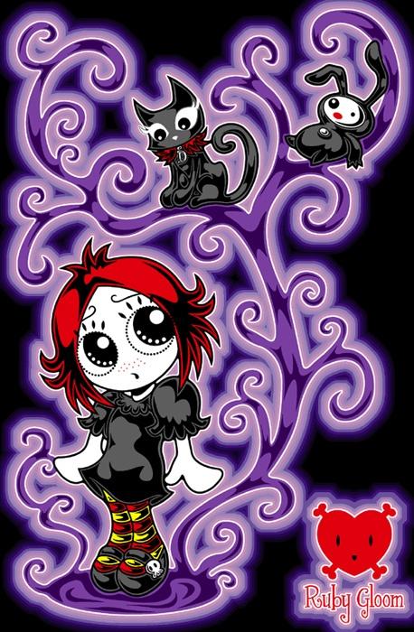 Ruby Gloom I LOVE HER!!!