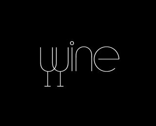 """Wine"" Logo"